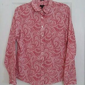 Talbot Paisley print shirt Size 12